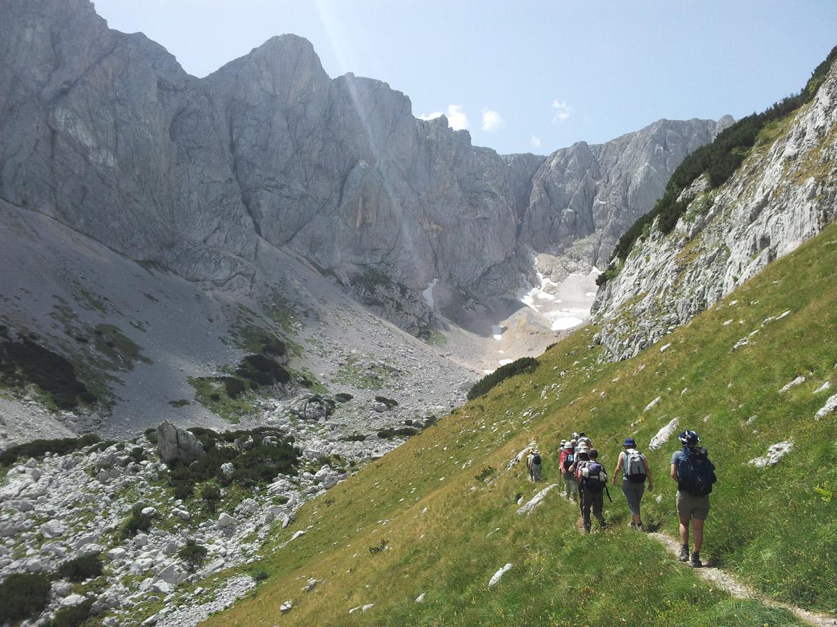 Durmitor Hiking mountaineering